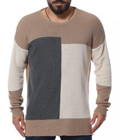 Oversize топъл пуловер 11951