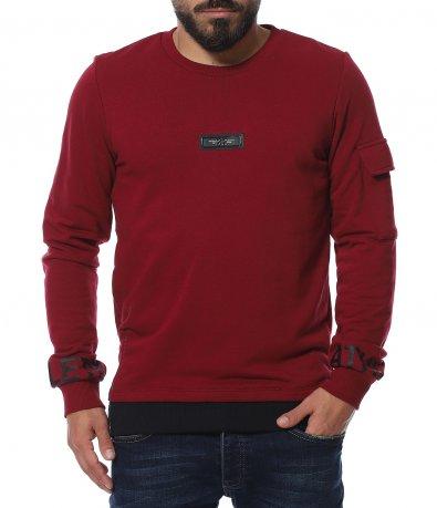 Casual спортна блуза с акценти 11629