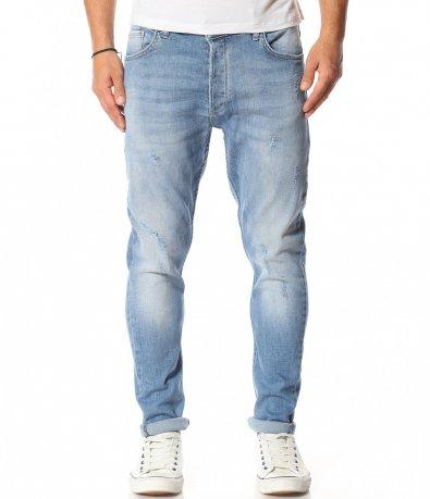Светло син дънков панталон 11953