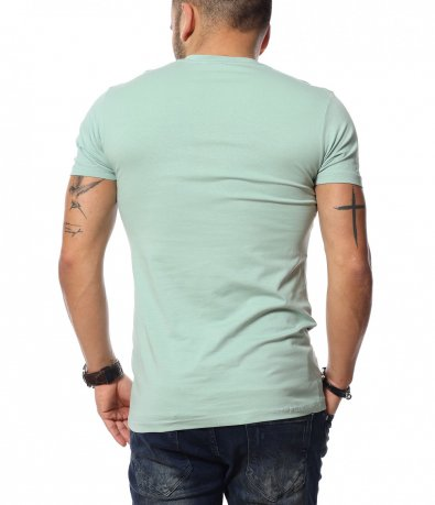 Ежедневна тениска с щампа 12021