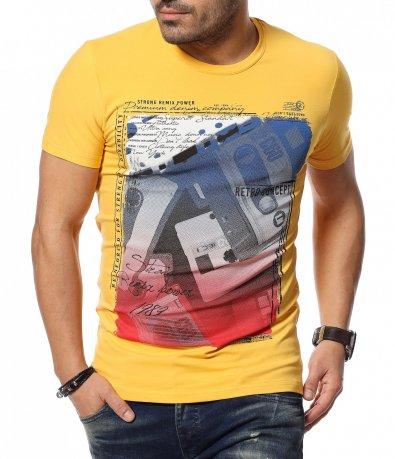 Клубна тениска с апликация 12027