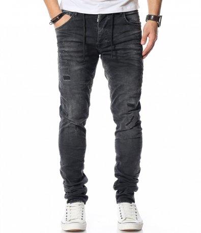 Ежедневен дънков панталон 12086