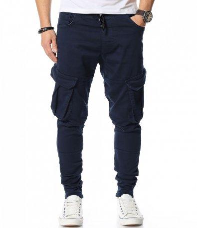 Ежедневен еластичнен панталон 12073