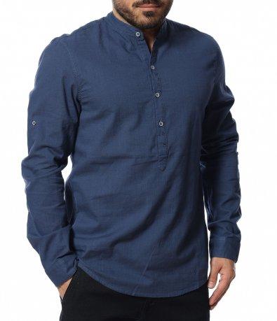 Риза с половин закопчаване 12095