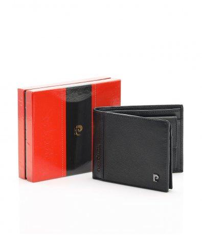 Кожен портфейл с метално лого  12109