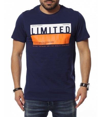 Тъмносиня тениска 12138