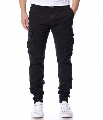 Черен панталон 12157