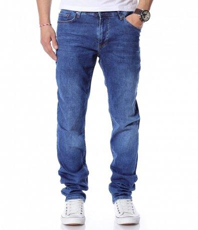 Сини стандартни дънки 12171