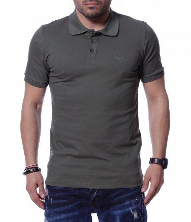 Ежедневна тениска с яка 12189