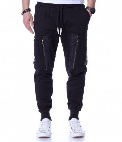 Забележителен панталон с акцент 12208