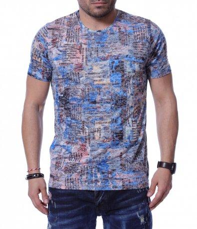 Тениска в преливащ нюанс 12214