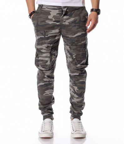 Модерен камуфлажен панталон 12229