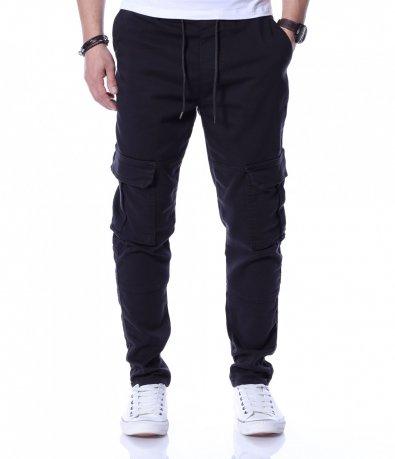 Карго панталон с изчистен дизайн 12230
