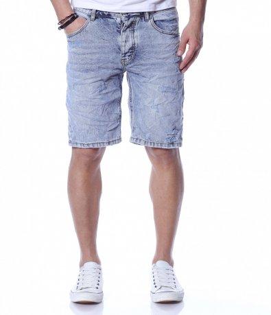Къси  панталони в светъл цвят 12277