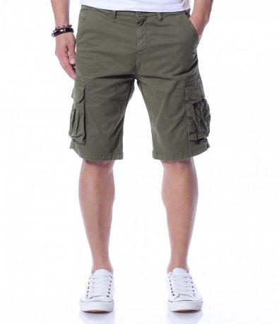 Къси панталони с карго джобове 12278