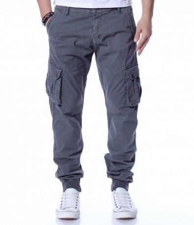 Памучен карго панталон 12282