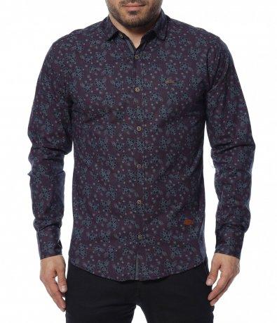 Риза с флорален принт 12290