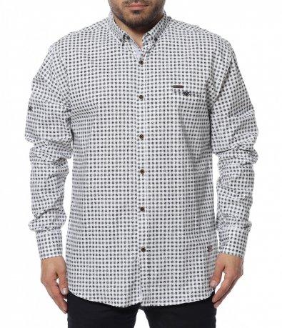Карирана oversize риза 12302