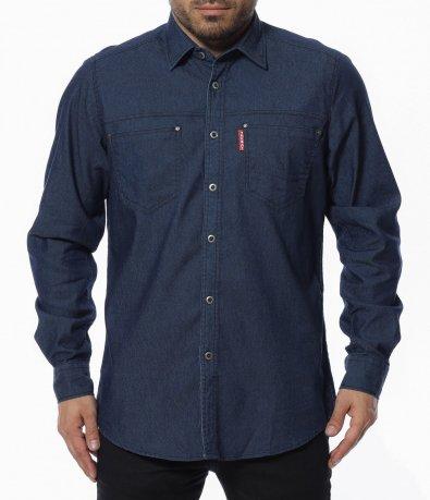 Еднотонна риза 12308