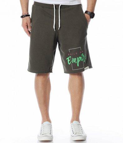 Къси панталони с надпис 12311