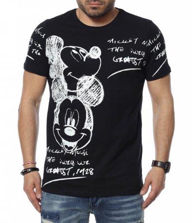 Тениска с интересен дизайн 12319