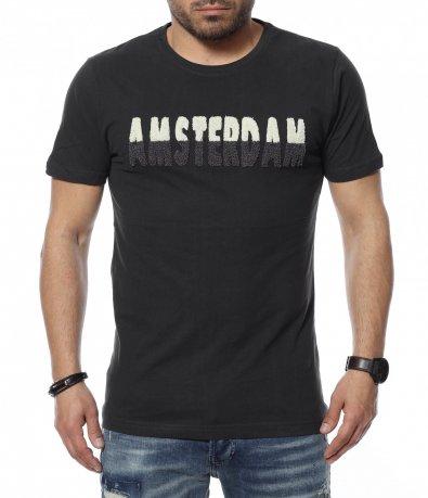 Тениска с надпис 12324