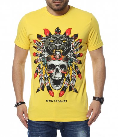 Цветна тениска с щампа 12346