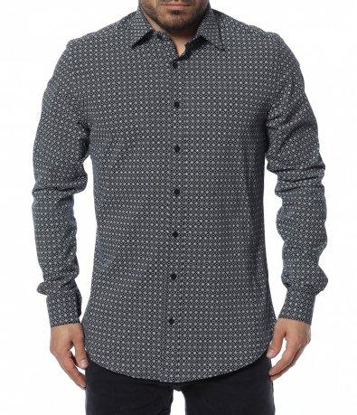 Риза с интересен принт 12361