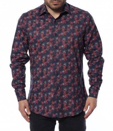 Риза с флорален принт 12365
