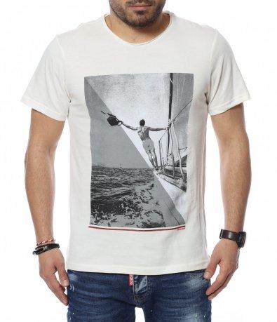 Еднотонна тениска 12350