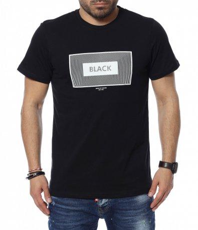 Тениска с надпис 12354