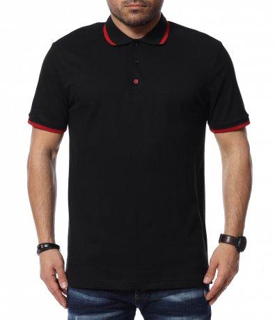 Тениска с яка 12389