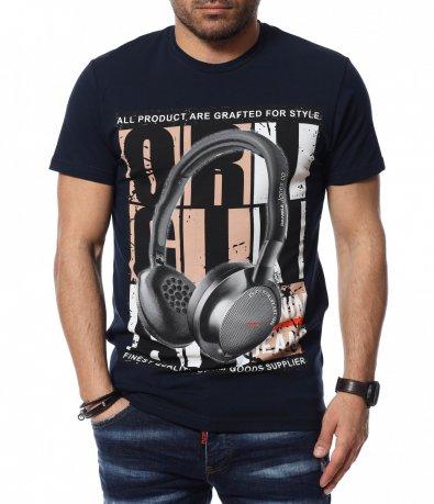 Тениска с щампа 12396