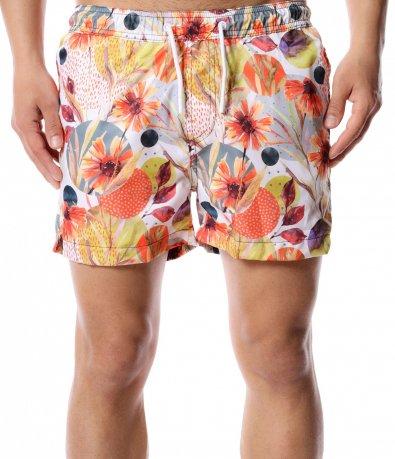 Плажни шорти с цветя 12428