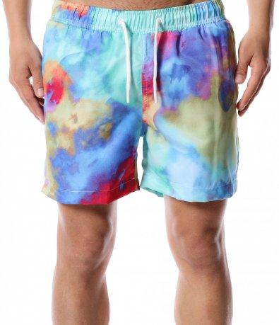 Цветни плажни шорти 12434