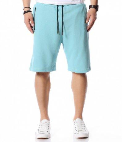 Едноцветни къси панталони 12437