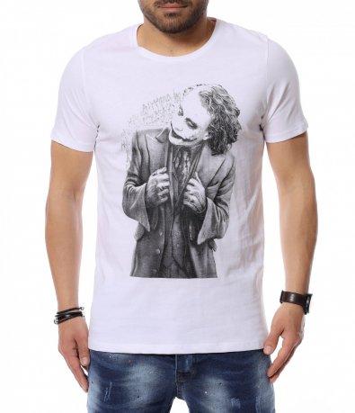 Едноцветна тениска 12452