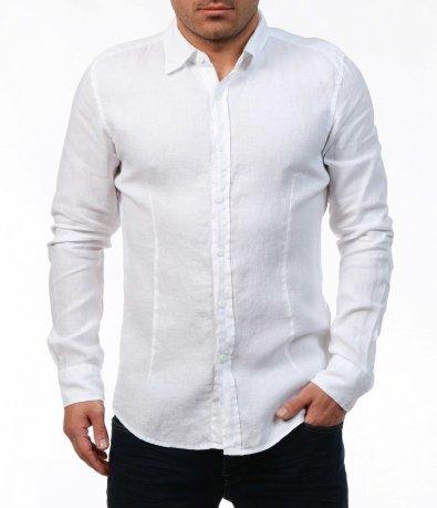 Лятна риза с от лен