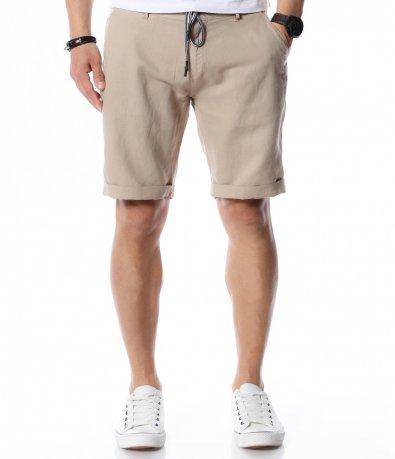 Едноцветни къси панталони 12458