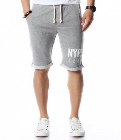 Къси панталони с надпис 12459