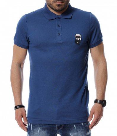 Тениска с яка 12465