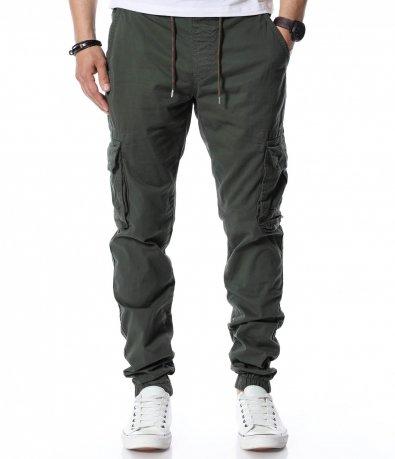 Карго панталон с връзки 12491