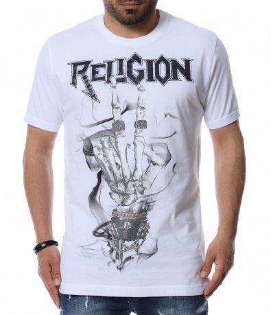 Тениска с наситен надпис 12481