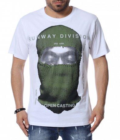 Тениска с голяма апликация 12488