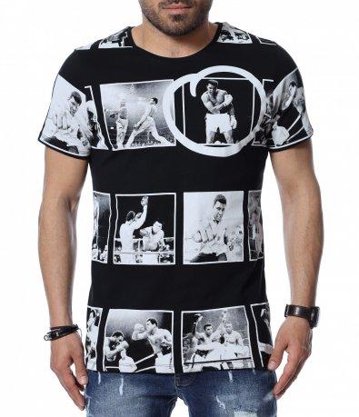 Тениска с интересен дизайн 12500