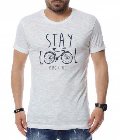 Тениска с надпис 12526