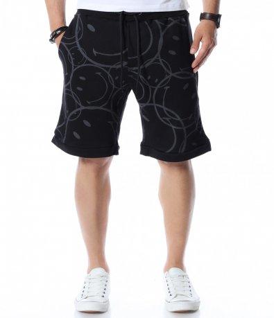 Къси панталони с весел принт 12547