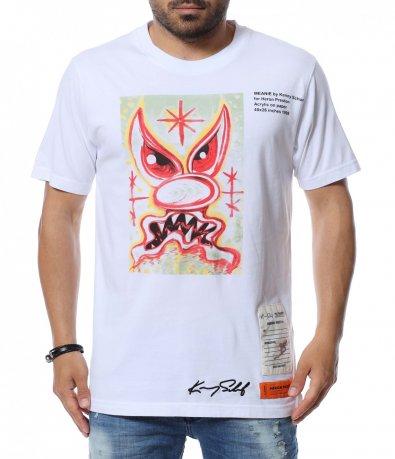 Тениска с нестандартна щампа 12616