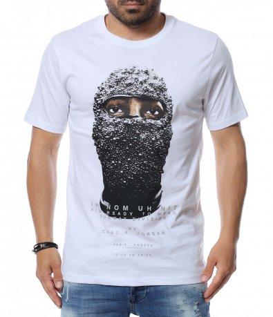 Тениска с апликация 12619