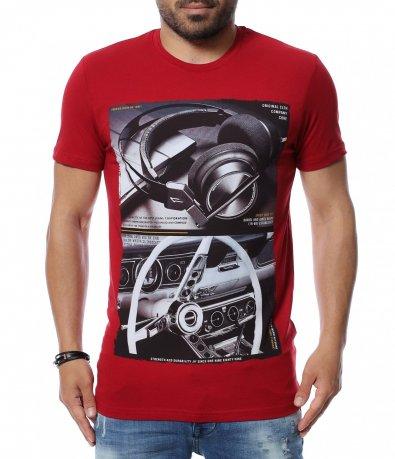 Тениска с двойна щампа 12636